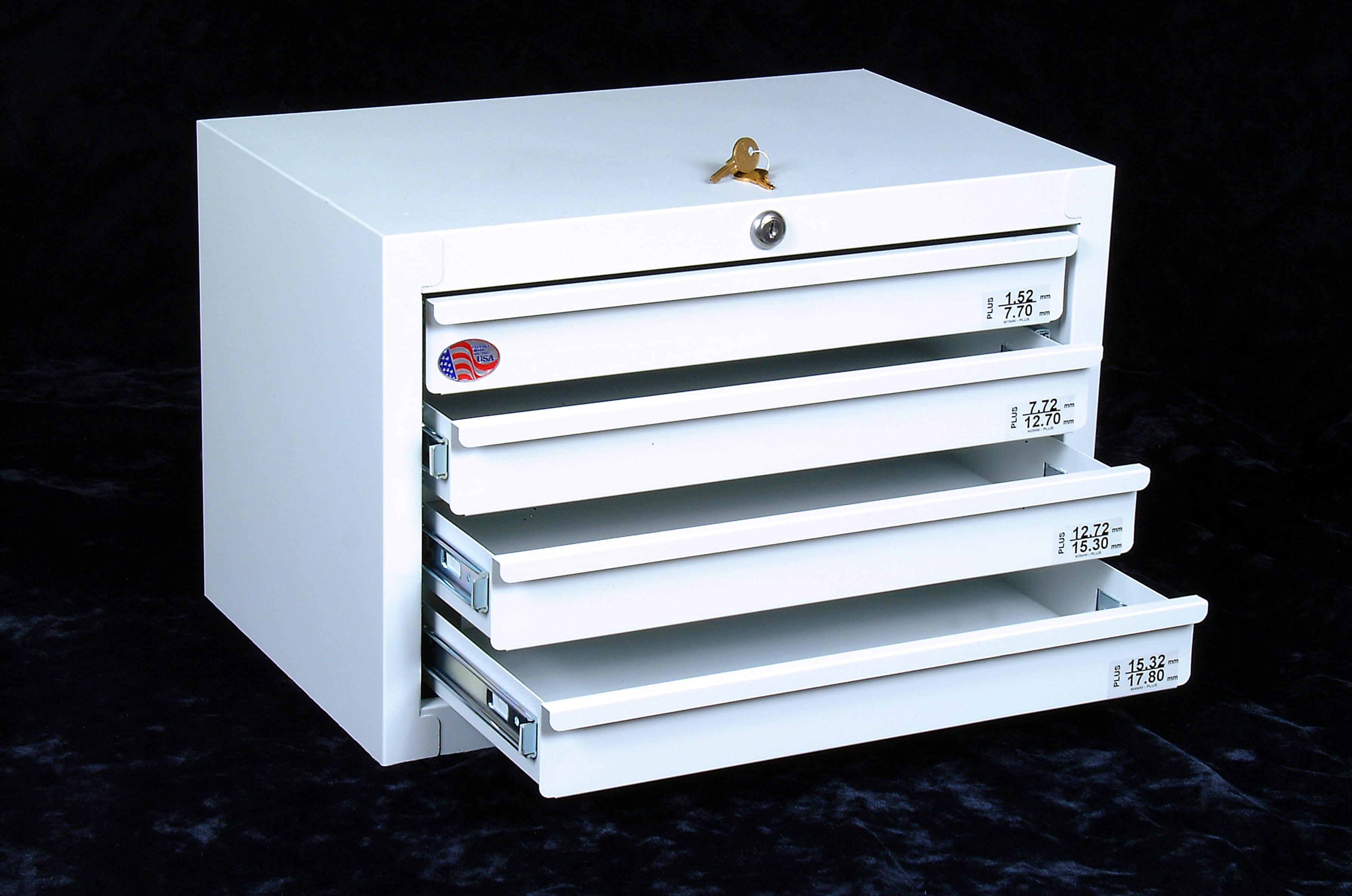 L-E4 Storage Cabinet Empty